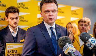 """Wybory prezydenckie 2020. Szymon Hołownia zabiera głos ws. """"pigułki dzień po""""."""