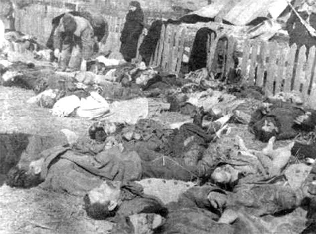 Ofiary Rzezi Wołyńskiej w kolonii Lipniki, 26 marca 1943 r.