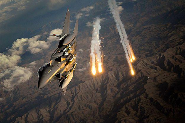 Myśliwiec F-15E Strike Eagle