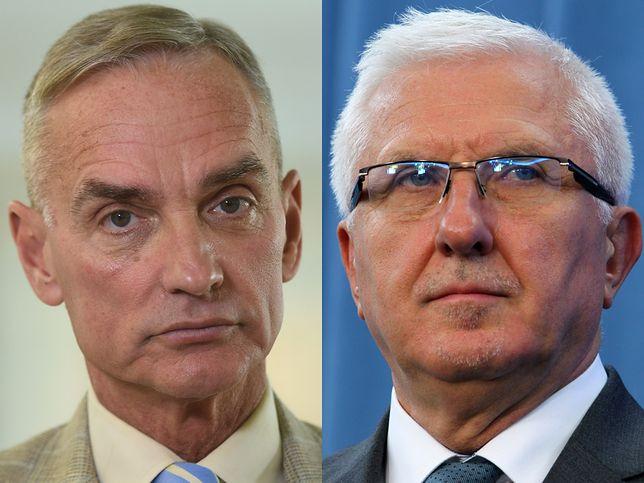 Senatorowie Jan Maria Jackowski i Wadim Tyszkiewicz