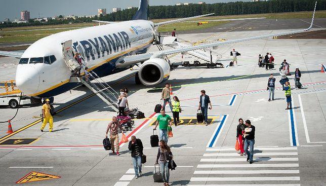 Z Modlina na główne lotnisko w stolicy. Ryanair chce przenieść 10 tras