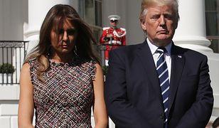 Melania Trump chce się uwolnić od męża? Internauci nie mają wątpliwości.