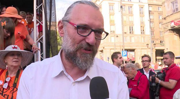 Lider KOD napadnięty na Dworcu Centralnym