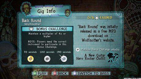 Nowość w Guitar Hero 5 - wyzwania
