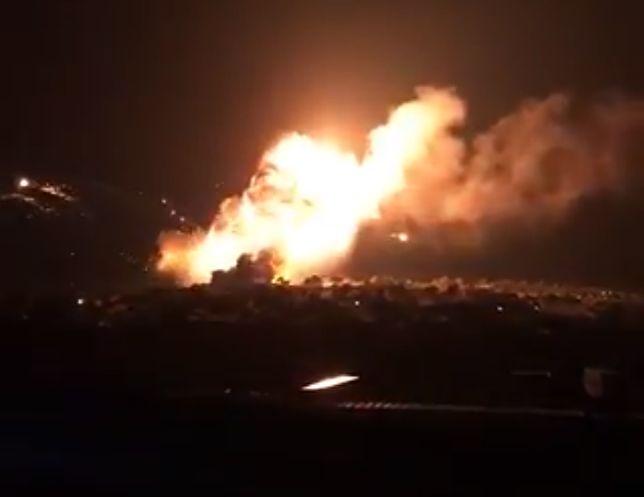 Eksplozje w składzie amunicji na Cyprze