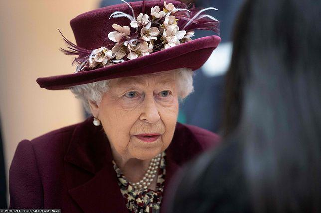 Królowa Elżbieta II jest niepocieszona