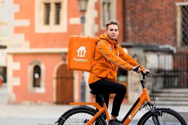 Darmowe dostawy rowerowe od Pyszne.pl w kolejnym mieście