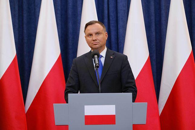 Prezydent RP Andrzej Duda o głosowaniu korespondencyjnym