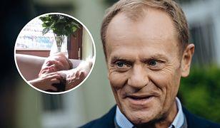 Donald Tusk opublikował urocze nagranie