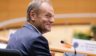 Donald Tusk w drugim dniu szczytu w Brukseli