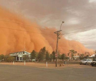 Burza piaskowa połknęła miasto w Nowej Południowej Walii