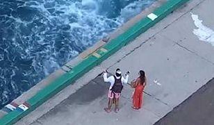 Para turystów została porzucona na Bahamach