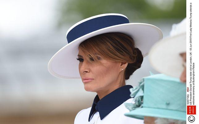 Melania Trump złożyła hołd księżnej Dianie. Zrobiła to w nietypowy sposób