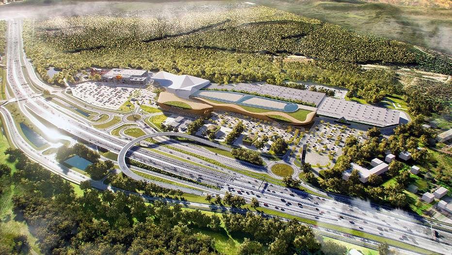 Nowe centrum handlowe pod Warszawą. Projekt Góraszka zapewni wiele atrakcji