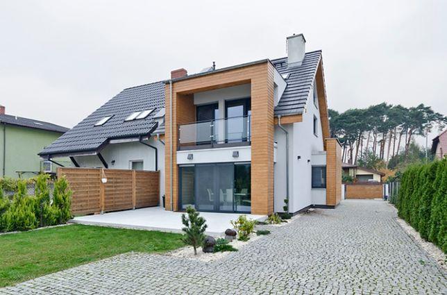 Dom bliźniak - idealne rozwiązanie na małą działkę