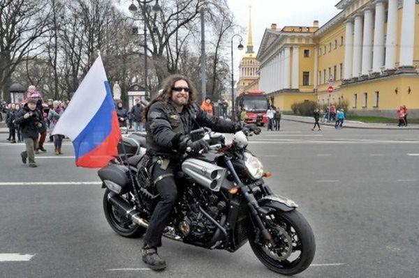 Putin dał Nocnym Wilkom 12 milionów rubli