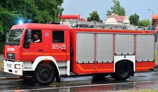 Rzecznik PSP: do rana ponad 1700 interwencji strażaków w związku z burzami