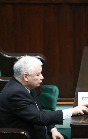 PiS przegrało głosowanie w Sejmie. Na zdjęciu Jarosław Kaczyński