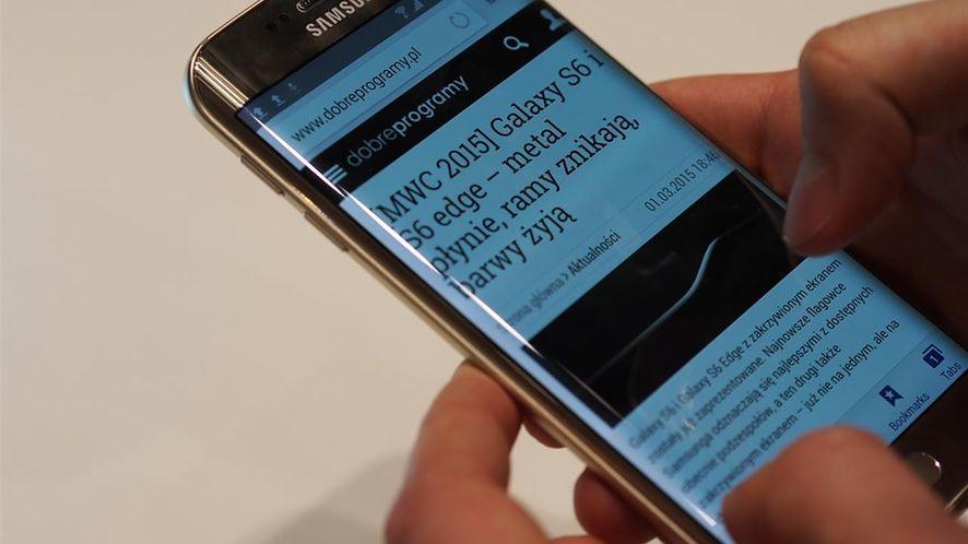 Plastik się przejadł, więc Samsung stawia na zakrzywione ekrany