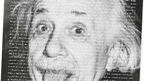 Pismo Einsteina powróci w postaci cyfrowej, symbole matematyczne też