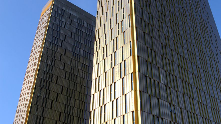 Budynek Europejskiego Trybunału Sprawiedliwości w Luksemburgu
