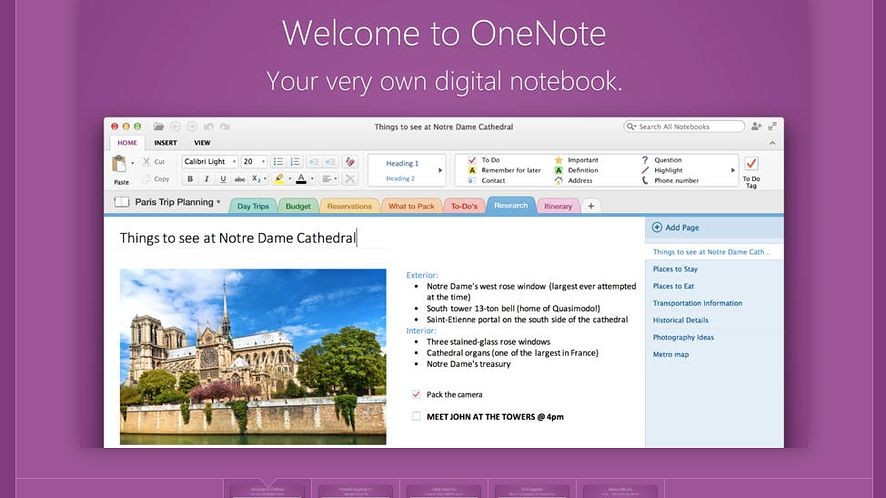 Jest już darmowy OneNote dla OS X, ale to nie koniec nowości