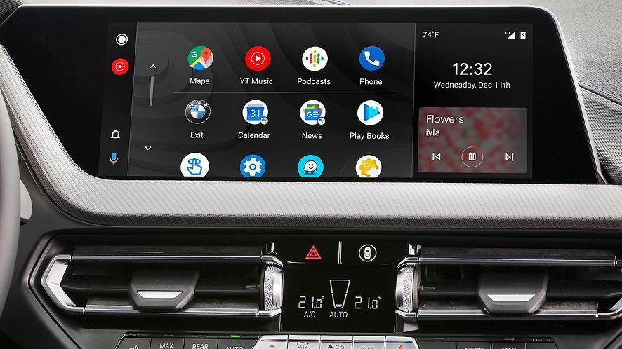 """Android Auto lub smartfony Samsunga dostały """"tajemniczą"""" aktualizację, fot. materiały prasowe BMW"""