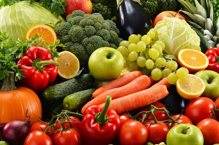 Nieorganiczne warzywa i owoce