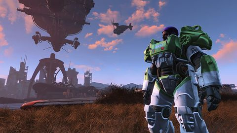 Falloutowe mody zmierzają na PS4. Nie jest różowo