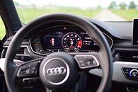Pojechałem Audi na parking, a komputer pomógł mi zaparkować