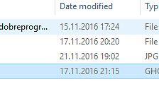 Dlaczego warto zrobić obraz dysku? – na przykładzie programu CloneZilla  - A tu zrobiony obraz mojego laptopa
