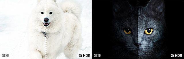 W przypadku HDR różne odcienie bieli i czerni pomagają lepiej odwzorować rzeczywistość.