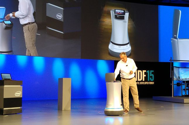Na szczęście ten robot nie ma zębów. Może w przyszłości?