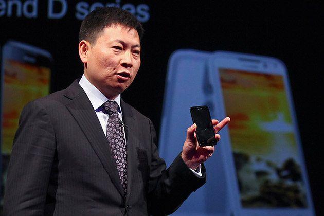Richard Yu, CEO Huawei