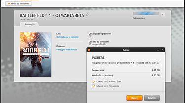Beta Battlefield 1 — pierwsze wrażenia