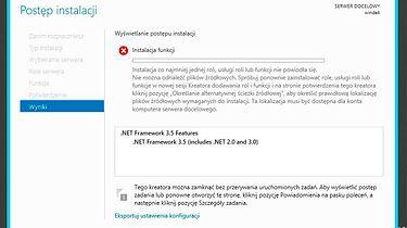 NetFramework v3.5 i problemy z instalacją na WindowsServer2012 - Zdjęcie 1