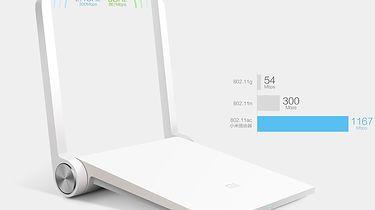 Paczka z Chin — Xiaomi Mi Mini Router: Dual-Band 2.4GHz/5GHz - wyrenderowany obrazek na stronie producenta obiecuje wiele