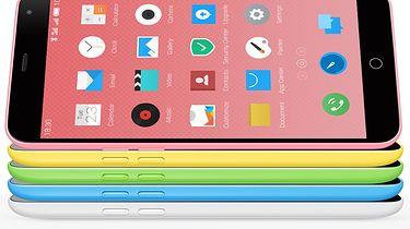 Meizu — prawdziwy mistrz twórczego kopiowania - Wygląd M1 nieodparcie kojarzy się z iPhone 5c, producent zadbał nawet o to, by odcienie kolorystyczne były jak najbardziej zbliżone do pierwowzoru.