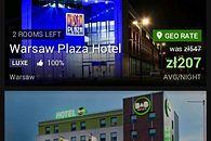 Urlopowe inspiracje - Warszawa Hotel Plaza za 207 zł