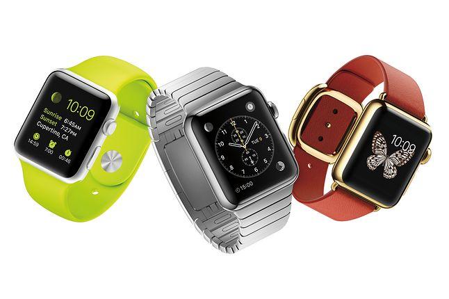 Apple Watch i jego próby zróżnicowania swej formy