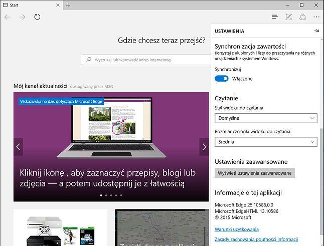 Synchronizacja w Windowsie 10, ustawienia to tu, to tam