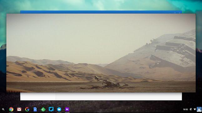 Domyślny odtwarzacz Chrome OS-a