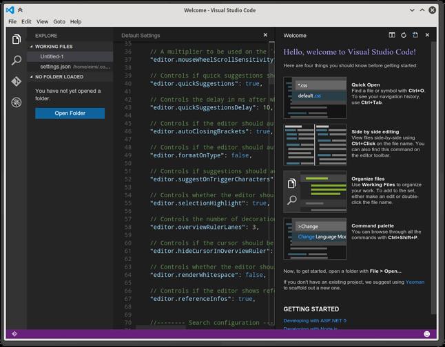Takie mamy czasy: logo Visual Studio w linuksowym okienku