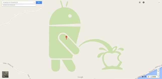 Prawdopodobnie najsłynniejsze użycie Kreatora Map Google.