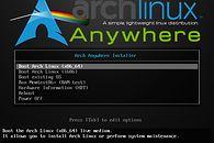 Arch-Anywhere — czyli Arch w jeszcze prostszej formie