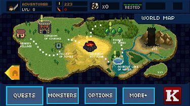 Po godzinach - czyli gry na Androida cz XVI - Mapa świata