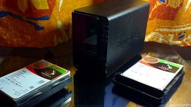Synology DS216 + IronWolf = backup doskonały - Synology NAS DS216 oraz dyski Seagate IronWolf 10TB do NAS