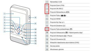 Samsung HMX-W350 [test v.4]. Menu