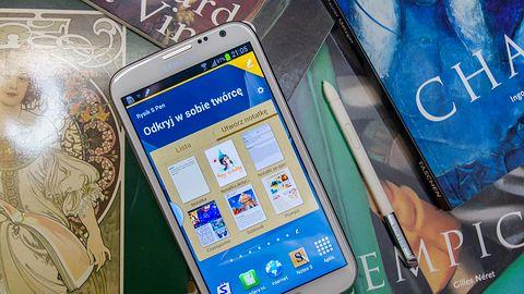 Samsung Galaxy Note II — z duszą artysty