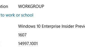 Miła niespodzianka dostarczona przed samym końcem roku – wyciek obrazu Windows 10 Enterprise w kompilacji 14997